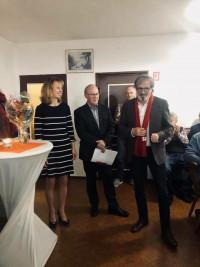 Nominierung und Rede von Ulla Schwarte
