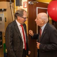 heutiger Vorsitzender Enderle mit ehem. Vositzenden (1985-1991) Wolfgang Kühnlein